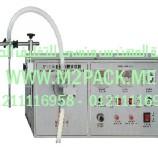 ماكينة تعبئة السوائل نصف أوتوماتيكية موديل DFD – 1 m2pack.com التى نقدمها نحن شركة المهندس منسي للصناعات الهندسيه و توريد جميع مستلزمات التغليف الحديث – ام تو باك